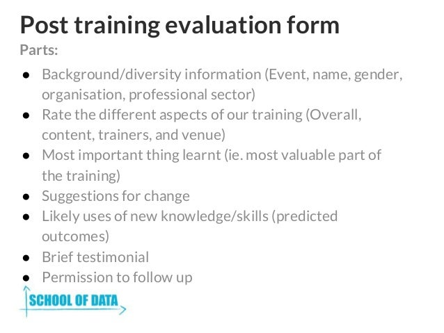 Training Feedback Template Sample Training Feedback Form  Examples