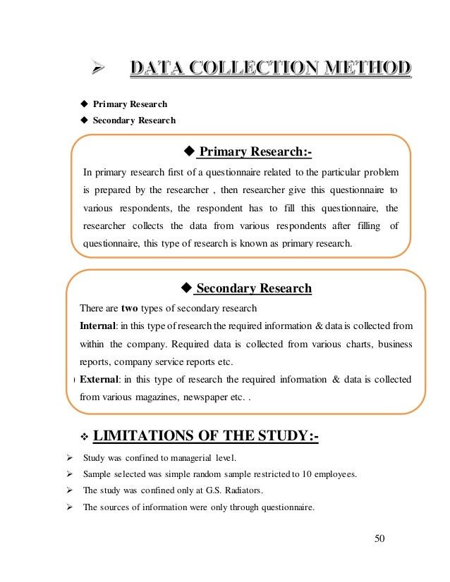 Summer Training Report On G S Radiators Ltd Ludhiana Punjab