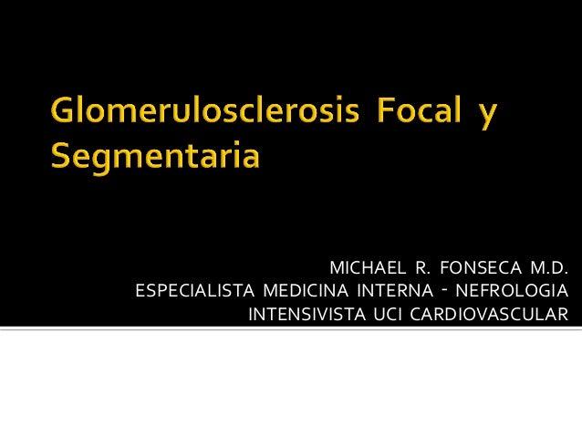 MICHAEL    R.    FONSECA    M.D.   ESPECIALISTA    MEDICINA    INTERNA    ‑    NEFROLOGIA  ...