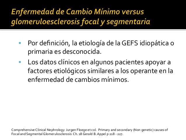 § Por  definición,  la  etiología  de  la  GEFS  idiopática  o   primaria  es  desconocida.    ...