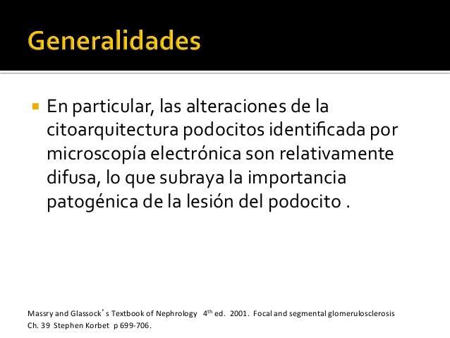 ¡ En  particular,  las  alteraciones  de  la   citoarquitectura  podocitos  identificada  por   micro...