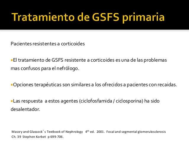 Pacientes  resistentes  a  corticoides   ¡El  tratamiento  de  GSFS  resistente  a  corticoides  e...