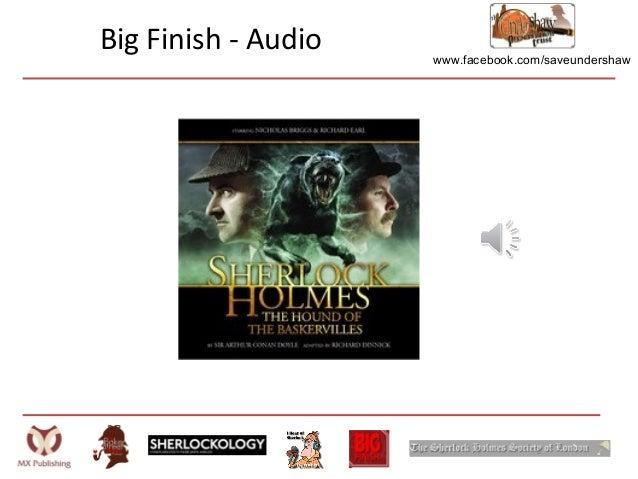 www.facebook.com/saveundershawBig Finish - Audio