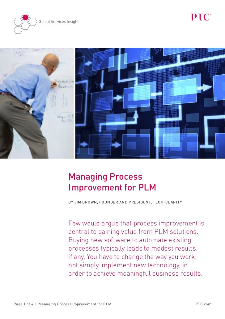 Global Services Insight                             Managing Process                             Improvement for PLM      ...