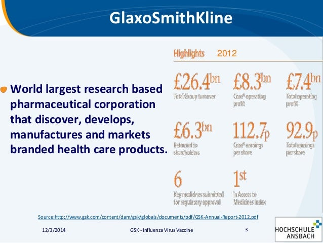 an introduction to the history of glaxosmithkline gsk The internship report is made on financial ratios analysis of glaxosmithkline  report contains the brief introduction of the  glaxosmithkline (gsk).