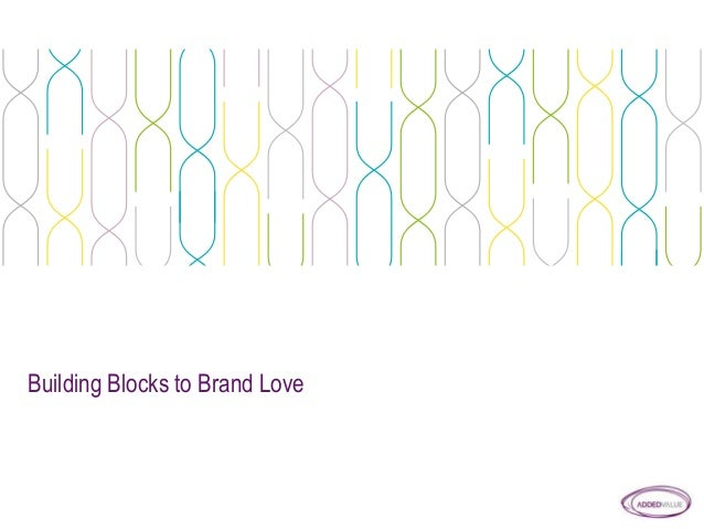 Building Blocks to Brand Love