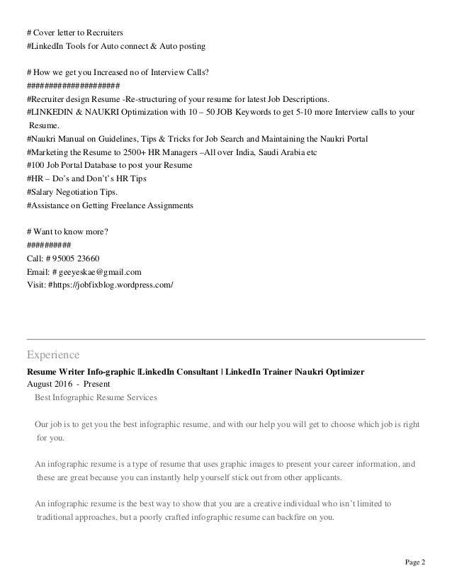 resume writer info graphic linkedin consultant linkedin trainer