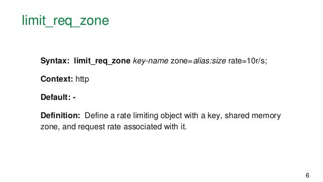 Rate Limiting with NGINX and NGINX Plus