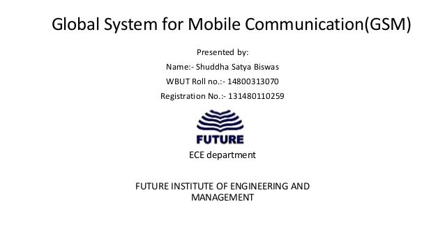 global system for mobile communications Global system for mobile communication (gsm) is wide area wireless communications system that uses digital radio transmission to provide voice, data, and multimedia communication services.