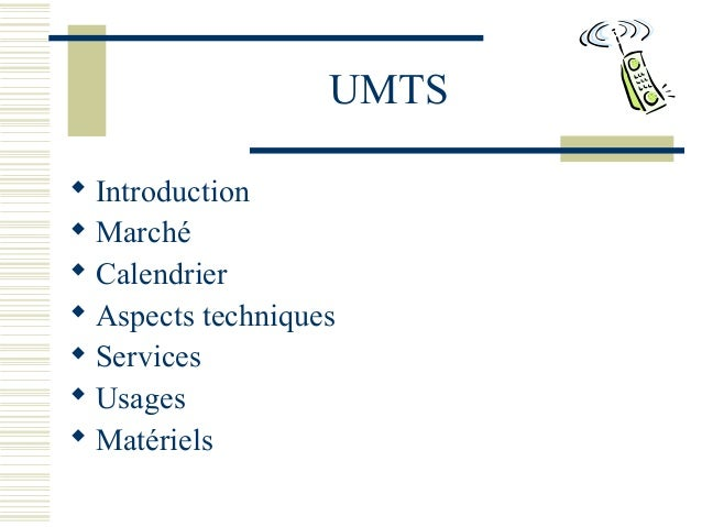 an introduction and background of universal mobile telecommunications system umts Universal mobile telecommunications system (umts) selection 6 umts 3003 version 320 introduction this etsi technical report (tr) lists the criteria and the procedures which are to be used to compare and evaluate ts 101 111 (umts 2101): universal mobile telecommunication system (umts) overall.