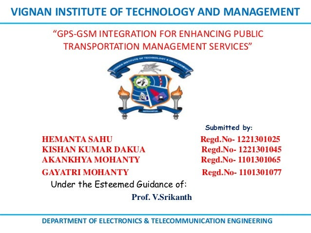 Vignan Institute Of Technology And Management Submitted By Hemanta Sahu Regd