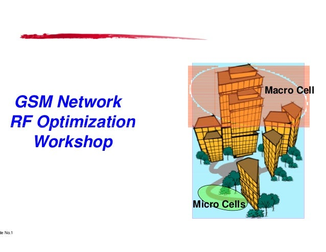 Macro Cell      GSM Network      RF Optimization        Workshop                                                          ...