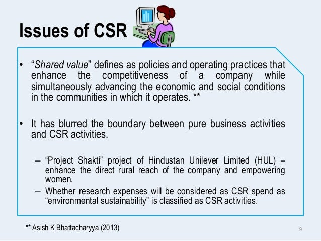 csr activities of hul A project report on corporate social responsibility on amul submitted to prof shruti naik year 2012-2013 preparded and.