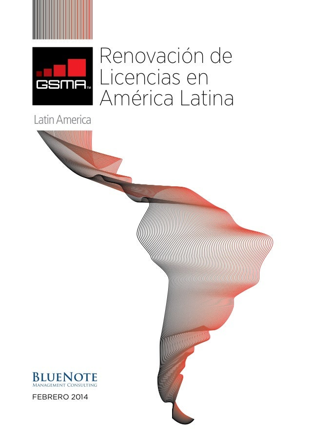 Renovación de Licencias en América Latina  febrero 2014