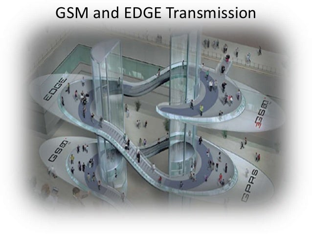 GSM and EDGE Transmission