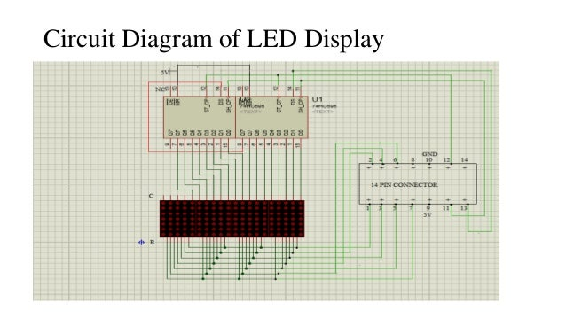 Gsm baesd wireless notice board shift register stcp shcp input serial data 13 circuit diagram of led display 14 interfacing microcontroller ccuart Choice Image