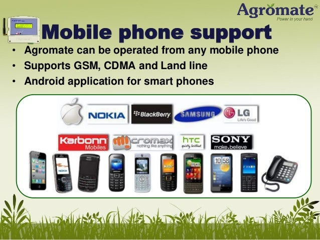 Any other uses? • Agromate can also be used for… • Water heaters, Air conditioners, Outdoor advertising lights • Any elect...