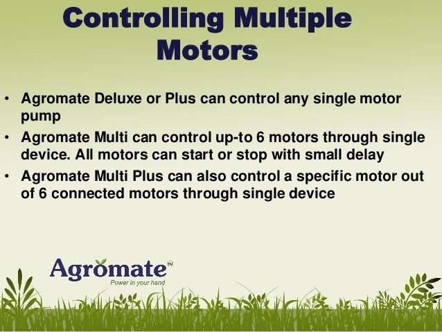 GSM Based Motor Controller