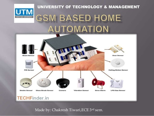 Gsm Based Home Automation Ppt