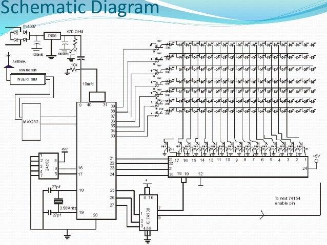 display board diagram all wiring diagram LED Block Diagram