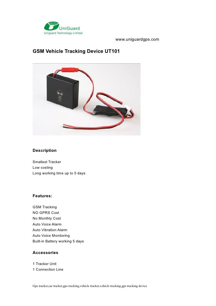 Gsm car tracker,car gsm tracker, 35 usd ut101