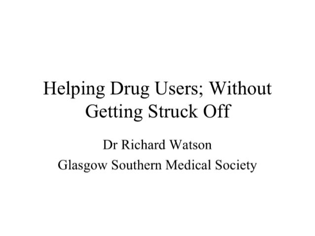 GSMS Presidential Address 2007 - Dr Richard Watson