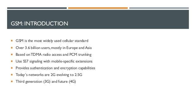 GSM Security 101 by Sushil Singh and Dheeraj Verma Slide 3