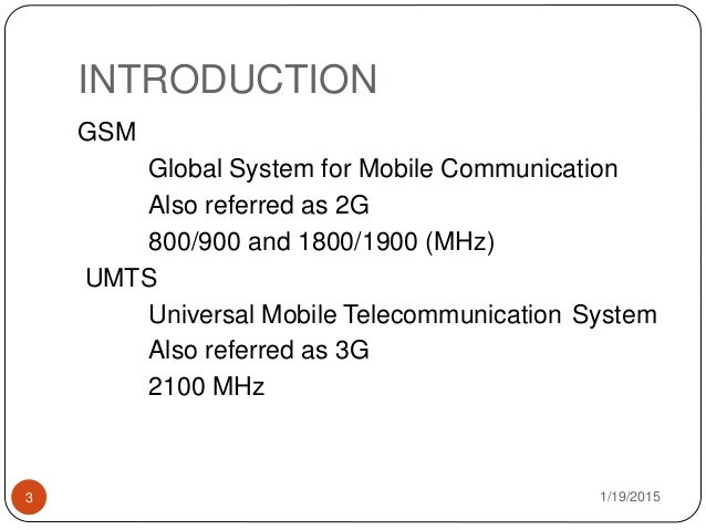 an introduction and background of universal mobile telecommunications system umts I background material 1 1 introduction to cryptography 2  6 umts - universal mobile telecommunications system 36  universal mobile telecommunications system.