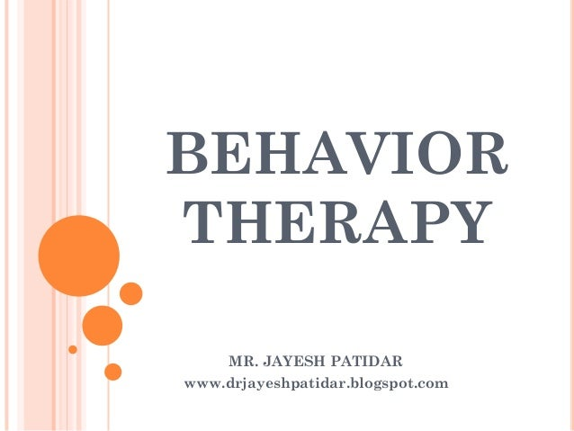 behavior therapy, Skeleton