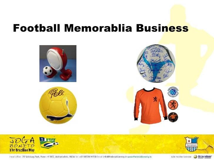 Football Memorablia Business