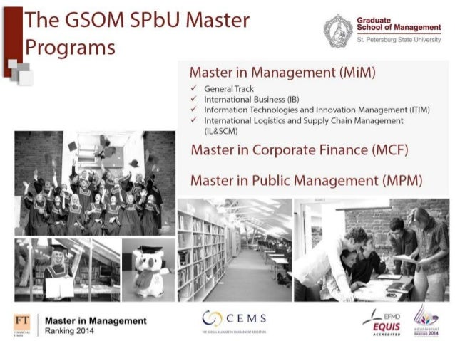 Master thesis in total quality management