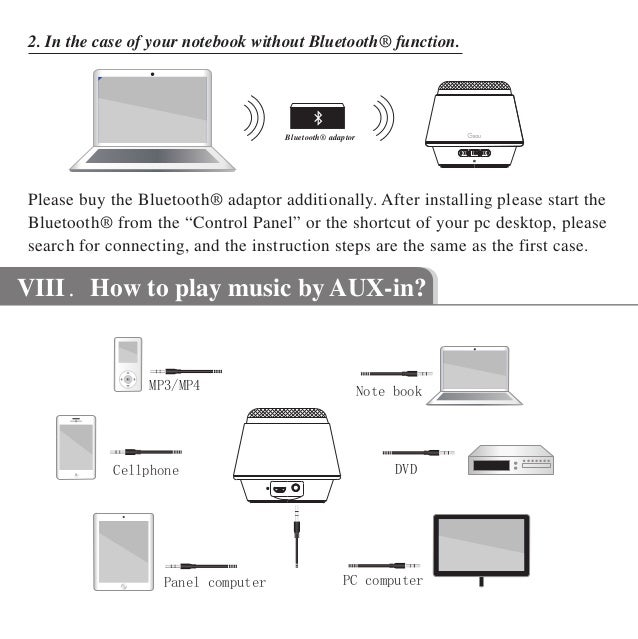 Borne Bluetooth Speaker User Manual