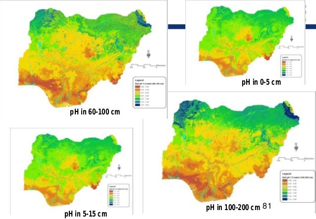 digital mapping of soil ph in A bit about digital soil mapping (dsm) and  globalsoilmapnet: a global digital  soil mapping initiative 3  eg, digital map of 0-5 cm depth soil ph at 100-m.