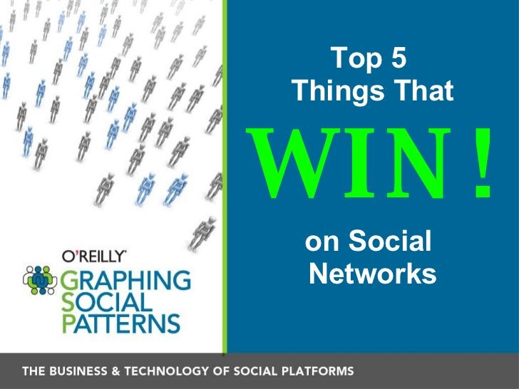 Top 5  Things That   WIN! on Social  Networks