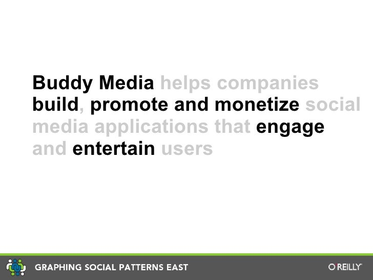 Viral Marketing Strategies, Graphing Social Patterns East Presented by Jeff Ragovin, Buddy Media Slide 2