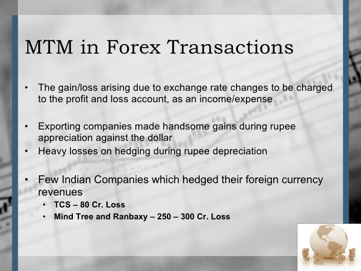 Tcs forex loss