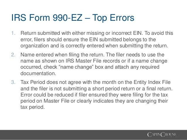 Demystifying The Form 990 Tips Tricks And Traps Of The Form 990