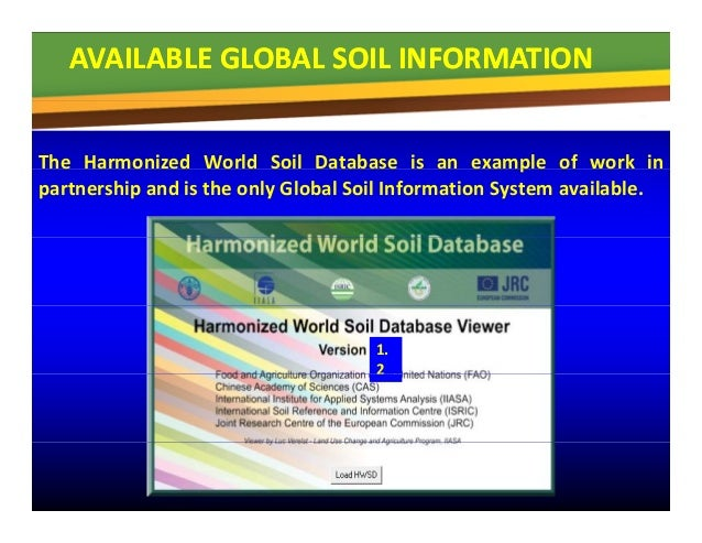 Gsp soil data and information pillar parviz koohafkan for Soil pictures and information
