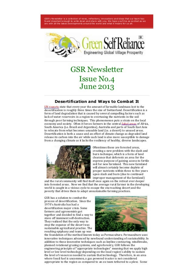 GSRs Newsletter is a collection of news, reflections, innovations and ideas that our team hasfound important enough to wri...