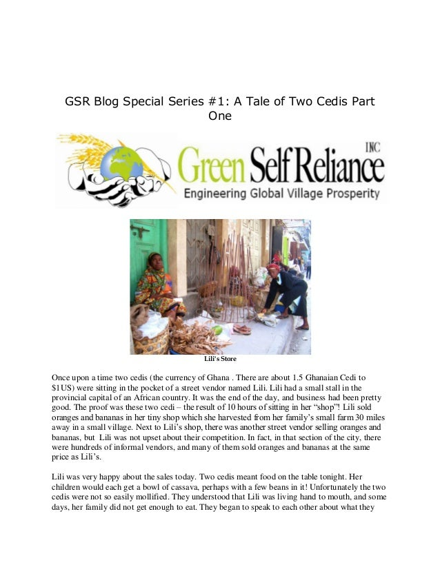 GSR Blog Special Series #1: A Tale of Two Cedis Part                           One                                        ...