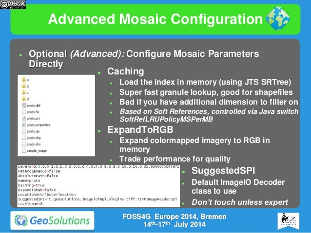 GeoServer on Steroids at FOSS4G Europe 2014
