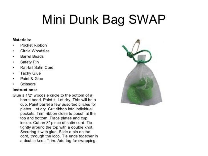 gs swap guide bag swaps