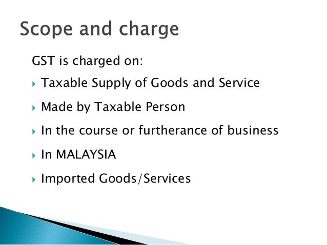 Malaysia GST Implementation plan for Company Slide 2