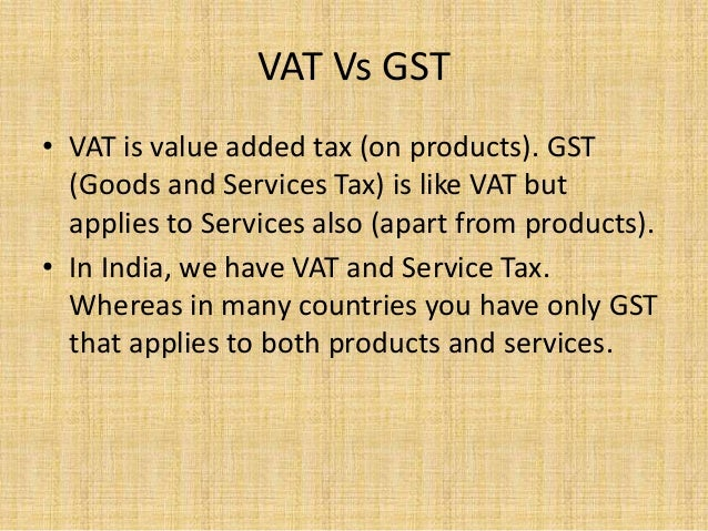 vat vs gst View vat, gst, sales and consumption tax rates for various countries around the globe using tmf group's vat rate checker.