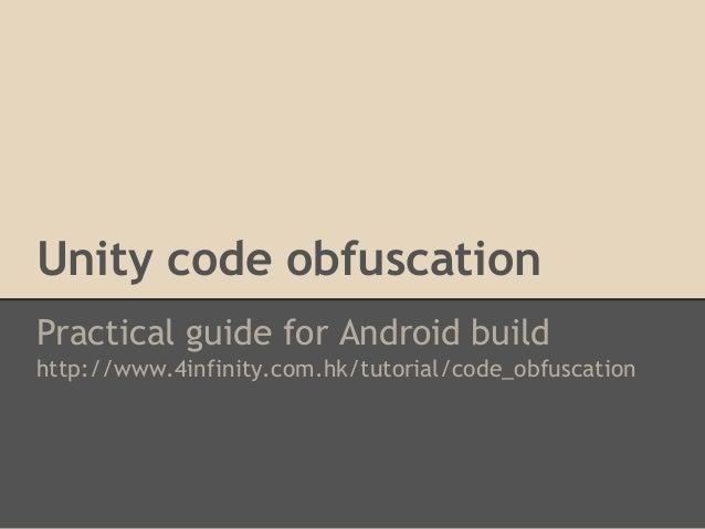 Gstar 2013] Unity Security