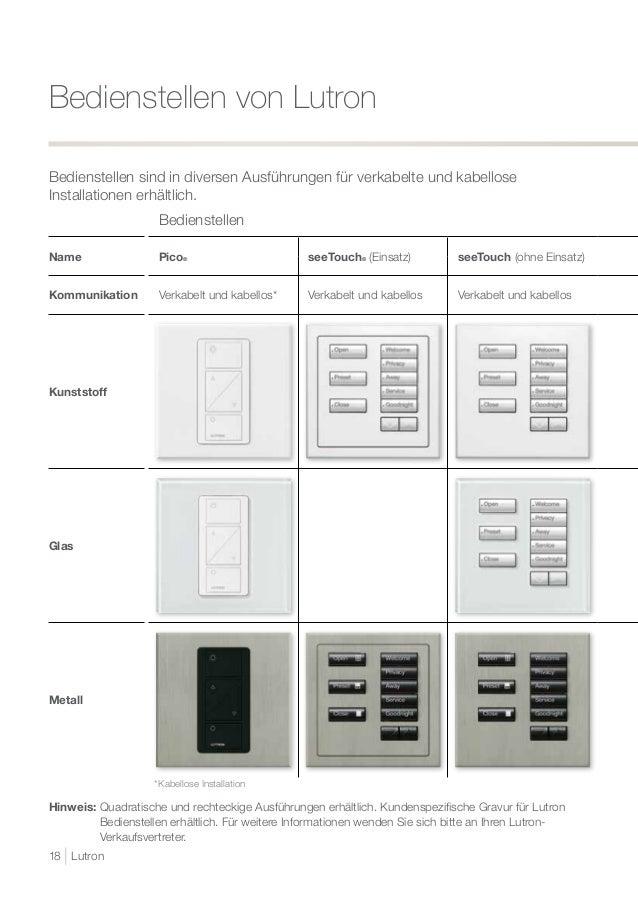 Ungewöhnlich Lutron Verkabelung Bilder - Elektrische Schaltplan ...