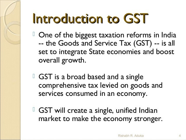 advantages and disadvantages of gst in india pdf