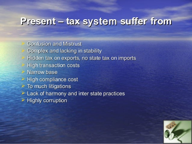 Goods & Service Tax (GST)        A Common Tax onGoods                     Services