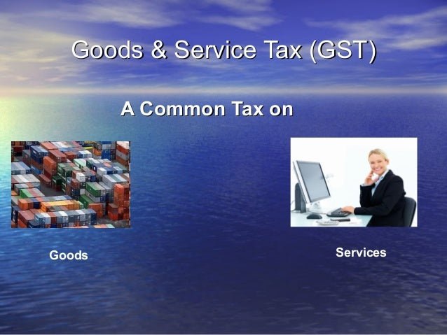 Pre-requisites for migrating to a              GST regime•   Setting up of empowered committee for GST (like VAT) which ca...
