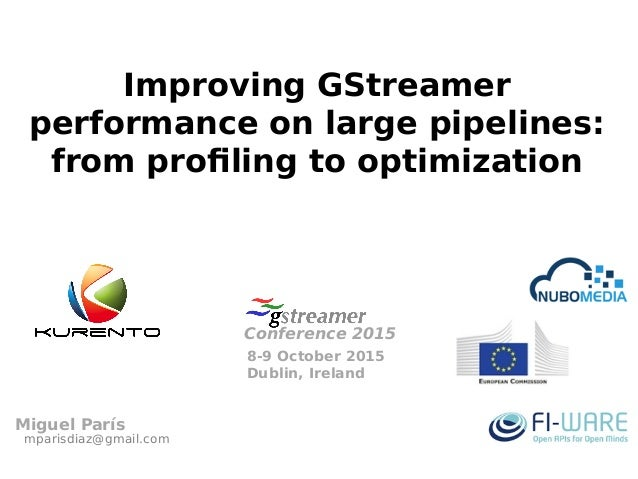 Improving GStreamer performance on large pipelines: from